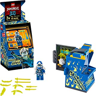 LEGO NINJAGO Jay Avatar - Arcade Pod 71715 Mini Arcade Machine Building Kit, New 2020 (47 Pieces)
