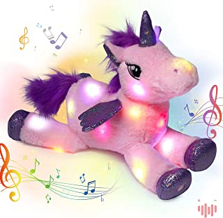 Choose album from selection Free shipping Entire custom music CD album Singing musical Stuffed Unicorn sings child/'s name in the songs
