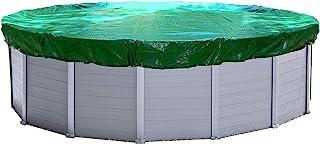 Quick-Star Cubierta de Invierno para Piscina Redonda, 420 cm diámetro, Lona Protectora 180g/m²