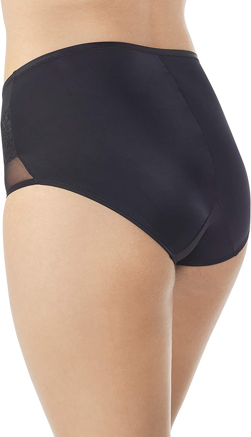 Vanity Fair Womens Smoothing Comfort Mesh and Lace Brief Panty 13267 Briefs
