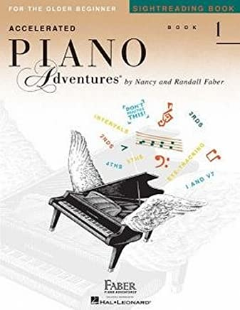 Accelerated Piano Adventures Sightreading Book 1: For the Older Beginner