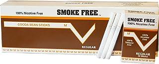 Carton 10 Packs Made in USA Since 1998 100% Nicotine Free(Cocoa Bean Sticks) Regular Flavor