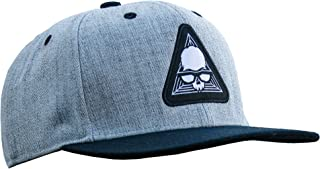 JINX Brand Avatar Snapback Baseball Hat, Gray/Black, One Size - for Video Gamers and Gaming Fans