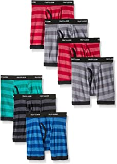 byFruit of the Loom Fruit Of The Loom Boys' Boxer Brief (Pack Of 7) (Assorted, Large (101-125 lbs/27