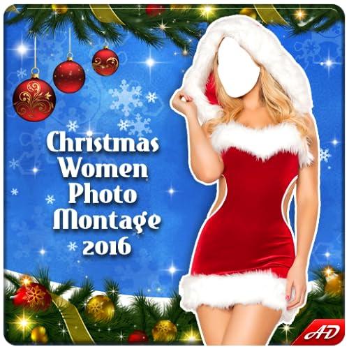 Christmas Women Photo Montage