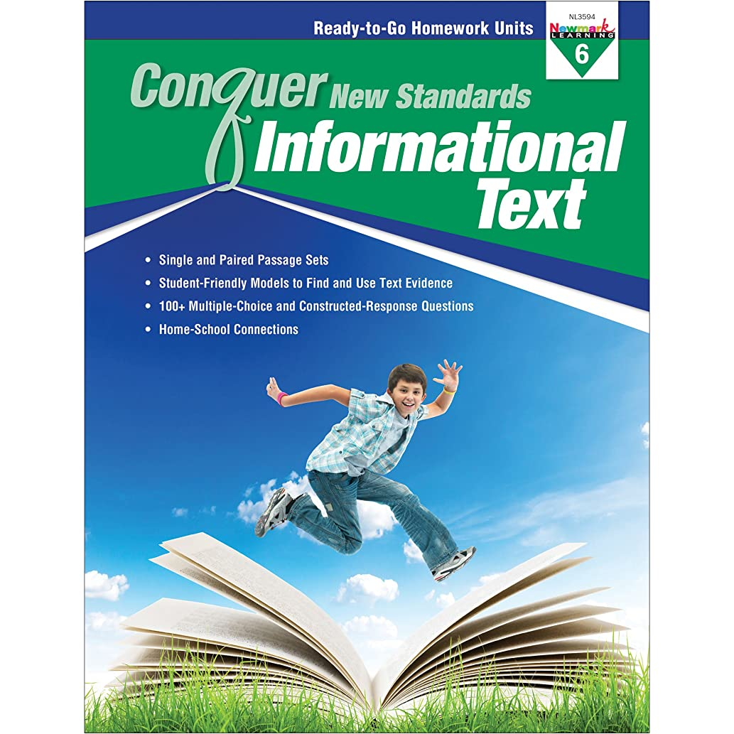 NewMark Learning Conquer New Standards, Informational Text, Grade 6