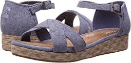 TOMS Kids Harper Wedge (Little Kid/Big Kid)