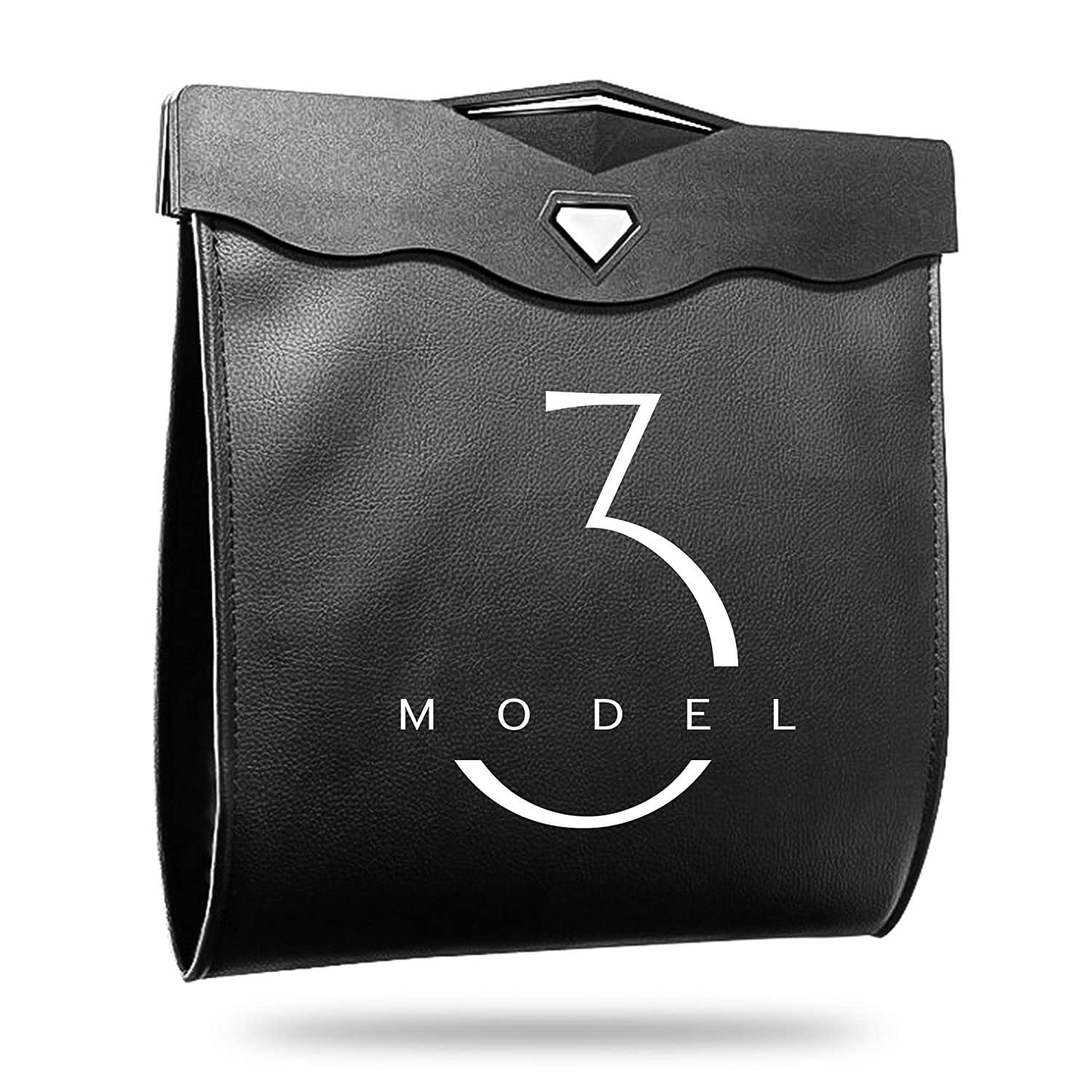 Arcoche Tesla Model 3 Trash NEW before selling Can Garbag Max 65% OFF for Seat Back Accessories