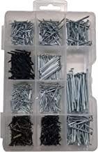 Nails Assortment Multi-Functional for Hanging Flat Head Nails Round Head Nails Shoe Nails Panel Nails Heavy Duty Tools Nee...