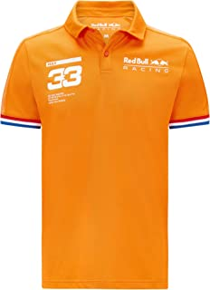Red Bull Racing Polo shirt Max Verstappen - oranje