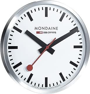 Mondaine A995.CLOCK.16SBB Wall Clock Large White Dial