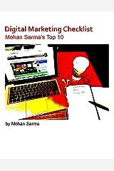 Digital Marketing Checklist: Mohan Sarma's Top 10 Kindle Edition