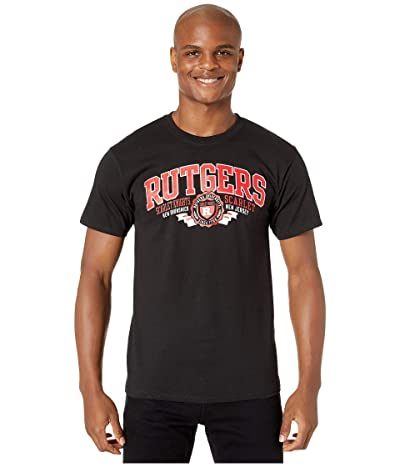 Champion College Rutgers Scarlet Knights Jersey Tee (Black) Men