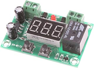 NOYITO Timed Intermittent Work Module 0-999 Minutes Timer Module Intermittent Output Switch Control Board -12V