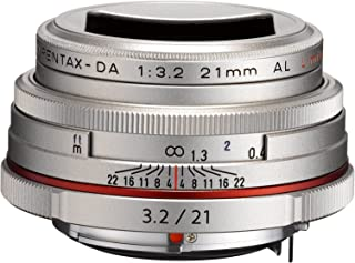 PENTAX Limited Lens-Thin Wide-Angle Single Focus Lens HD PENTAX-DA21mmF3.2AL Limited Silver K Mount APS-C Size 21420