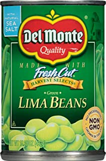 Del Monte Canned Green Lima Beans Harvest Selects 15.25oz Can