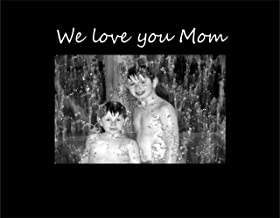 Infusion Gifts 9008-SB We Love You Mom Photo Frame, Small, Black