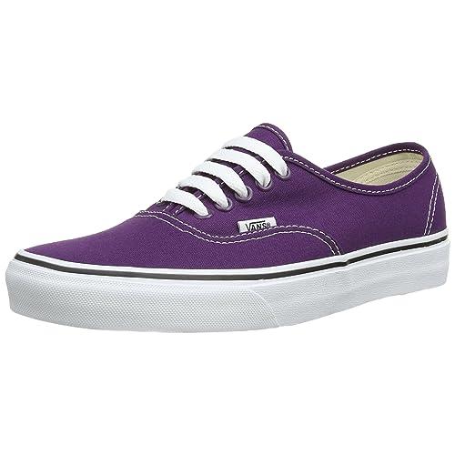 643758d3d096 Vans Authentic Plum Purple True White Men s 6 Women s 7.5
