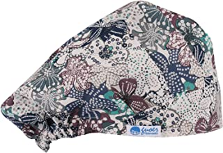 Scrub Hat Bouffant Scrub Cap One Size Multi Color