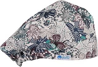 GUOER Scrub Hat Bouffant Scrub Cap One Size Multi Color