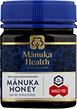 Manuka Health - MGO 100+ Manuka Honey, 100% Pure New Zealand Honey, 8.8 Ounce (103)