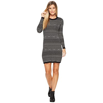 Aventura Clothing Fallon Dress (Black/Oatmeal) Women