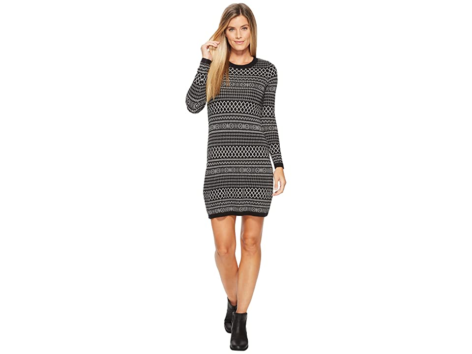 Aventura Clothing Fallon Dress (Black/Oatmeal) Women