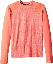 Nike Kids Girl's Rush Heather Long Sleeve Hydroguard (Big Kids)