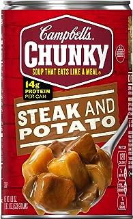 Campbell's Chunky Steak & Potato Soup, 18.8 oz.
