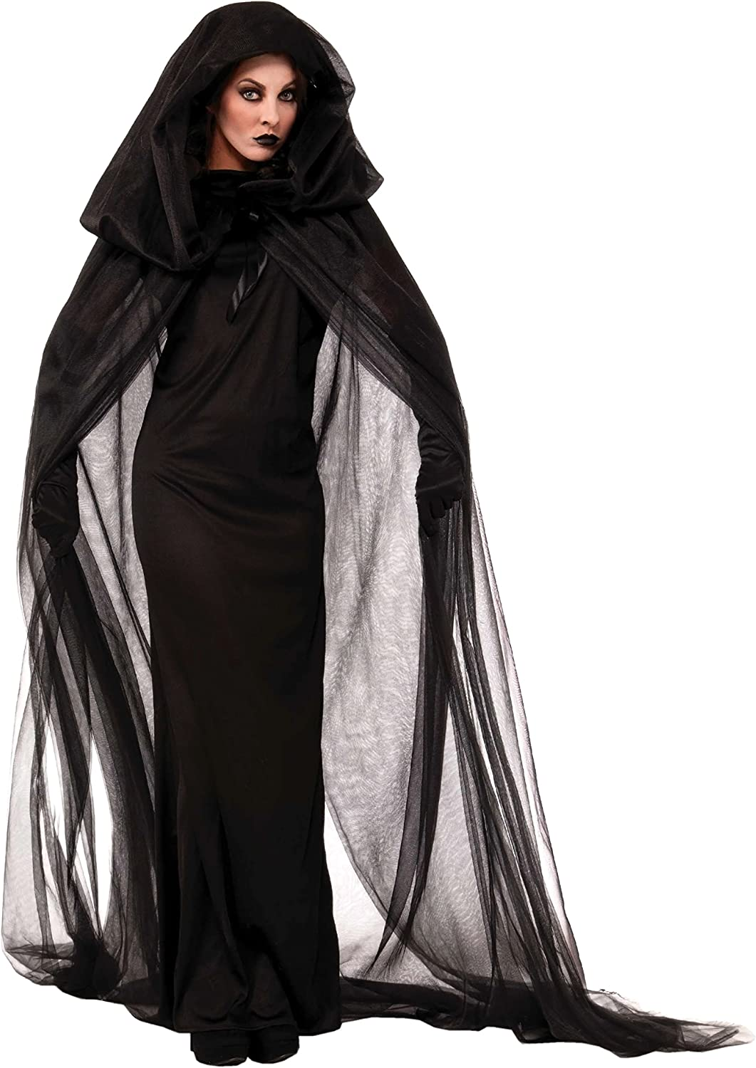 Forum Novelties Haunted Black Adult Costume Cape One Size