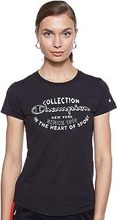 Champion Women's 111438 KK001NBK crew neck t-shirt 111438 KK001NBK