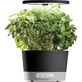 AeroGarden Harvest 360 Indoor Hydroponic Garden, Black