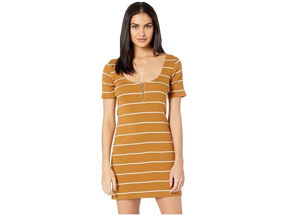 RVCA Donner Dress (Beeswax) Women