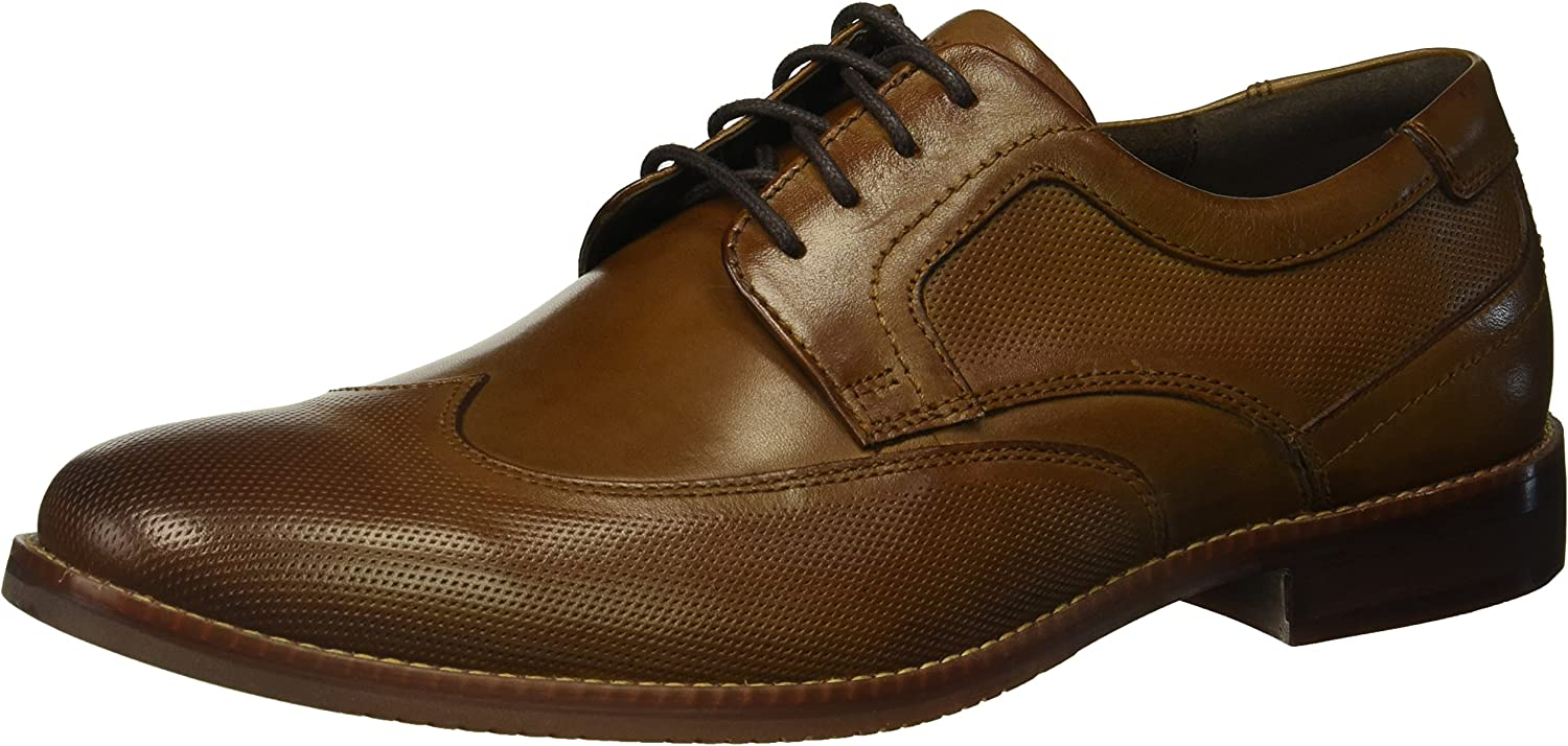 Rockport Men's Style Purpose Perf Wingtip shoes