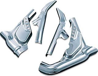 Kuryakyn 8609 Motorcycle Accent Accessory: Mid-Frame Covers for 2009-13 Harley-Davidson Touring & Trike Motorcycles, Chrome