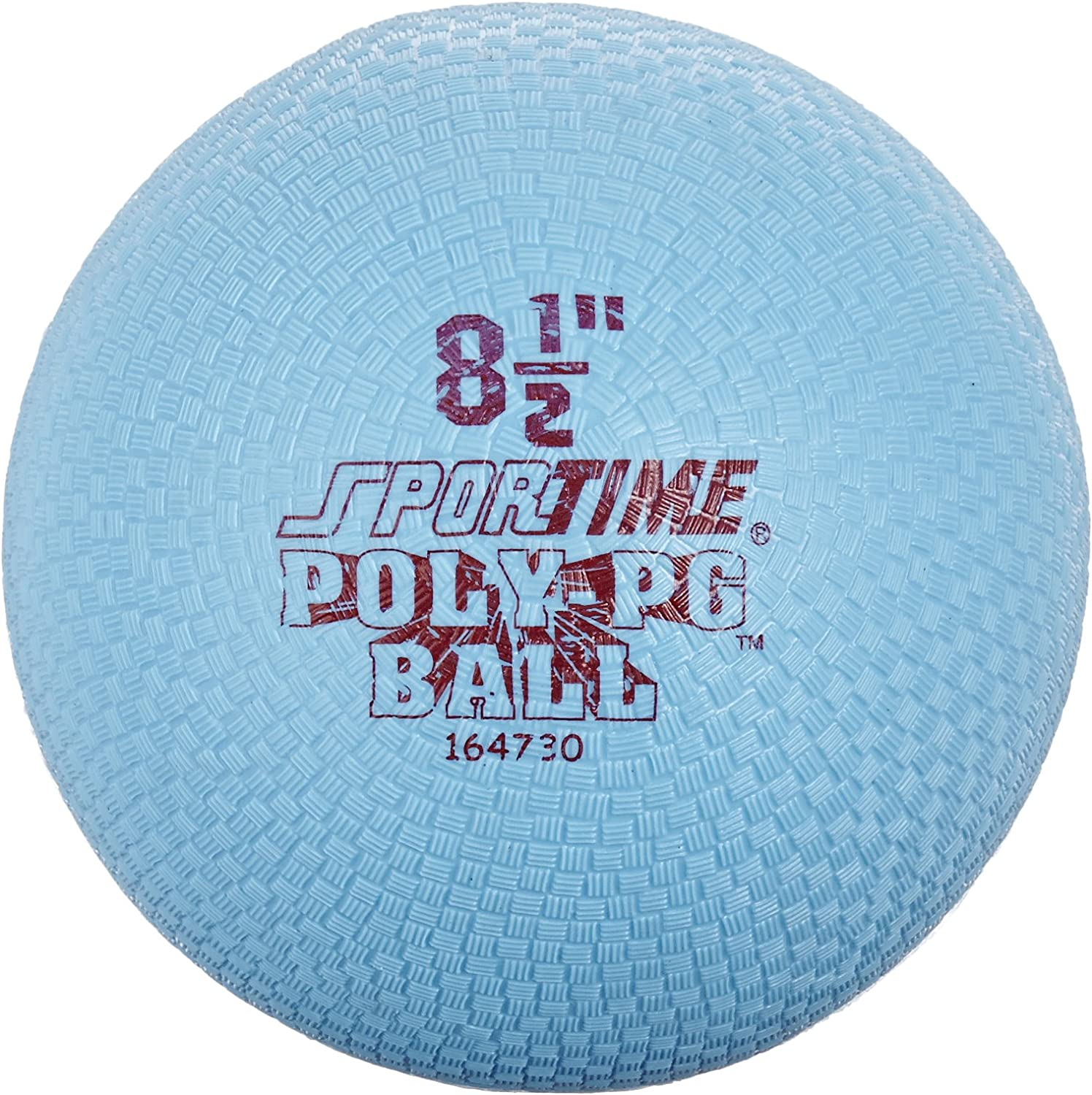 Sportime Poly Playground Ball  8 1 2 inch  bluee