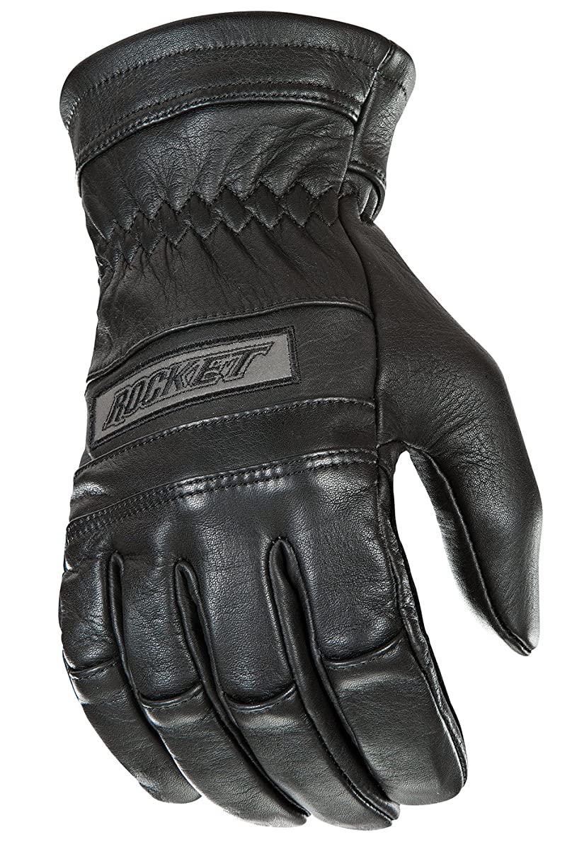 Joe Rocket Classic Men's Motorcycle Riding Gloves (Black, Large)
