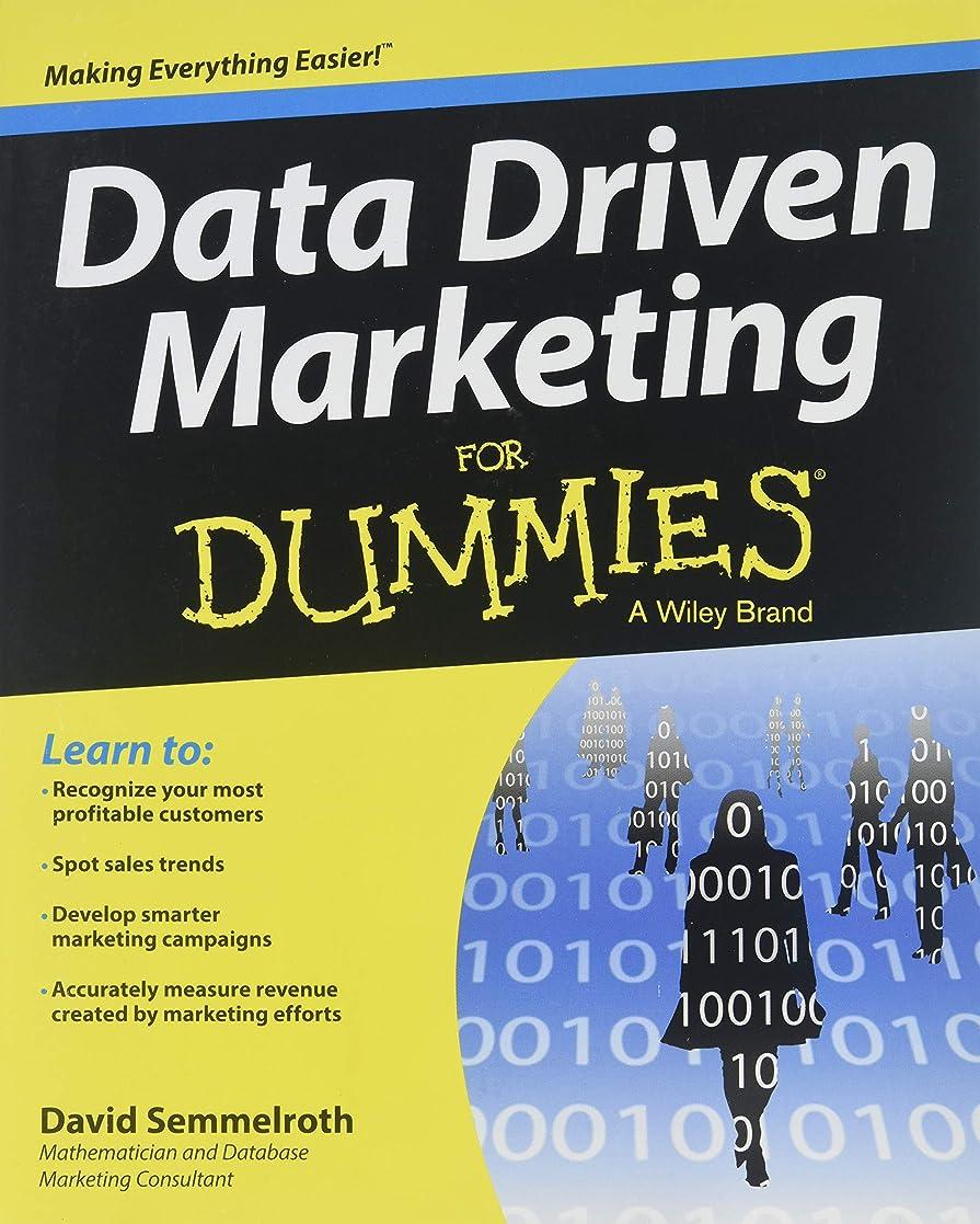 兵隊依存する自分の力ですべてをするData Driven Marketing For Dummies (For Dummies Series)