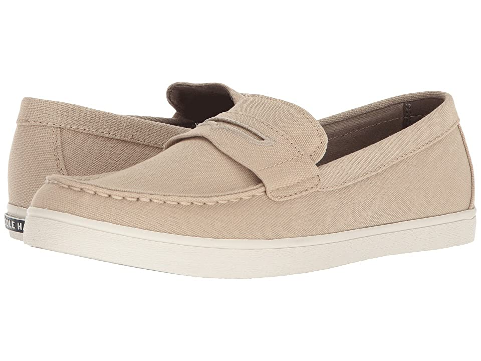 Cole Haan Hyannis Penny Loafer II (Natural Tan Canvas) Men