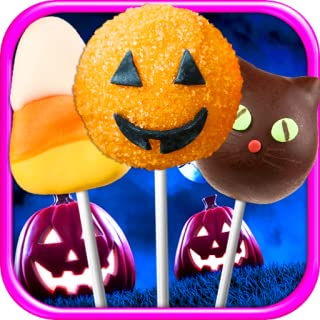 Cake Pops Halloween - Kids Dessert & Food Maker Games FREE