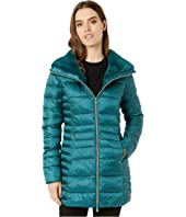 Iris 9 Puffer Coat with Faux Fur Lined Collar