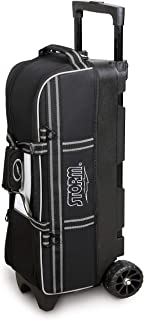 3 Ball in Line Tote Roller Black