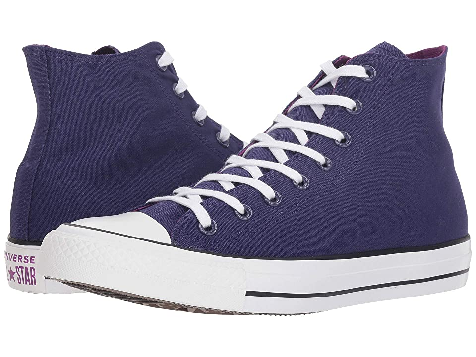 Converse Chuck Taylor(r) All Star(r) Seasonal Color Hi (New Orchid/Icon Violet/Cave) Lace up casual Shoes