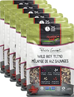 Floating Leaf Fine Foods - Wild Rice Blend - Case of 6 x 14 ounces - Gluten Free, Kosher, Non GMO, and Vegan