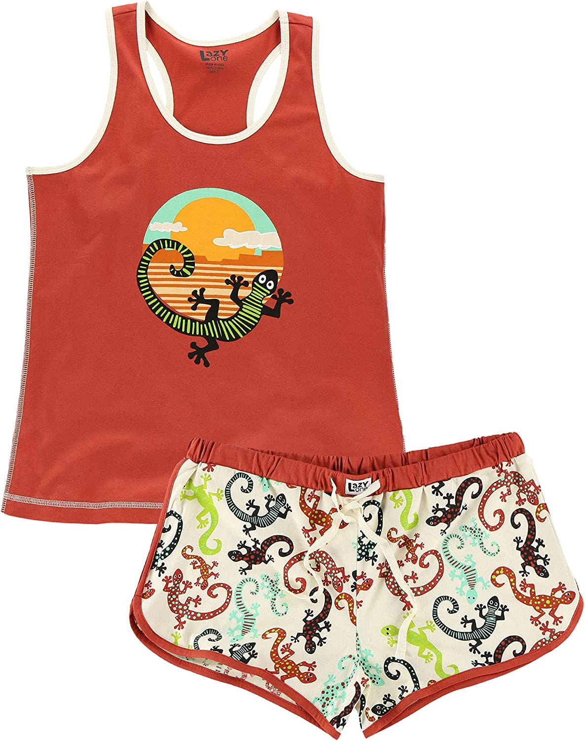 Lazy One Matching Pajamas Al sold out. for Max 45% OFF Women Tank Shorts Cute and Pajama