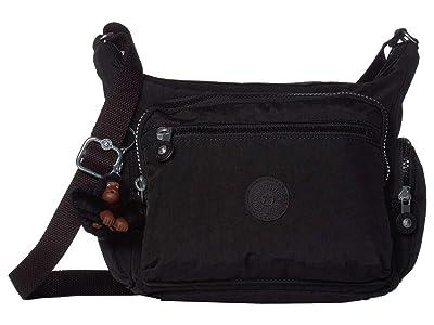 Kipling Gabbie Small Crossbody Bag (True Black) Handbags