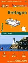 Carte Michelin Bretagne 2021
