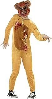 Smiffys Deluxe Zombie Teddy Bear Costume, Multi-Colour, Medium, 45268M