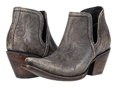 Ariat Dixon (Naturally Distressed Black) Cowboy Boots