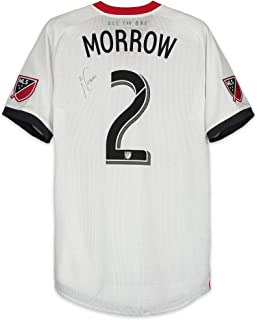 Justin Morrow Toronto FC Autographed Match-Used White #2 Jersey vs. Atlanta United FC on August 4, 2018 - Fanatics Authentic Certified